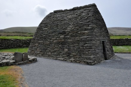 The Gallarus Oratory, side