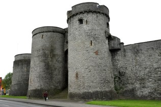 King John's Castle, up close