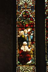 Detail of the Caswell Window, middle left panel