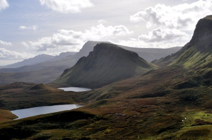 View of the Trotternish Ridge looking south