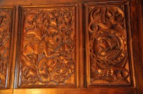 Carved panels
