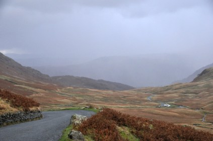 The road to Honister Pass