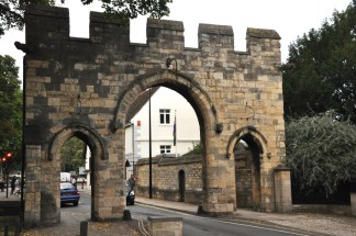 The Priory Gate, and a major city thoroughfare