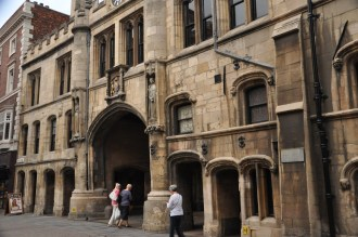 Lincoln Guildhall and Stonebow, front
