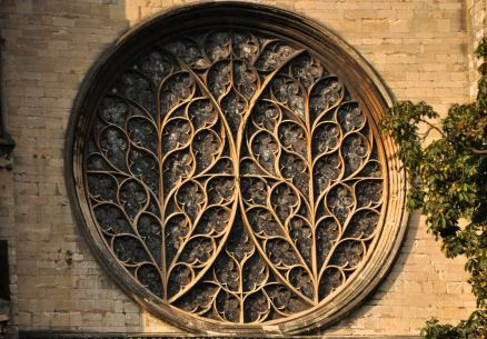 The Bishop's Eye window, south transept