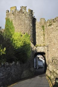Exit from Conwy through the city walls