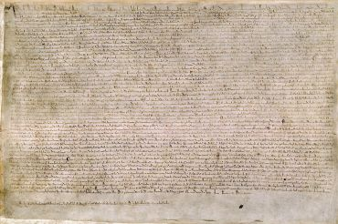 The Magna Carta of 1215
