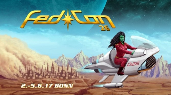 Fedcon Bonn Germany – 2nd – 5th June