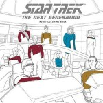 Star Trek Next Generation Colouring In Book