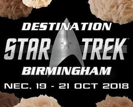 Destinations Star Trek Birmingham - Star Trek Convention 2018 UK