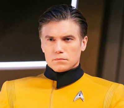 Captain Pike - Anson Mount