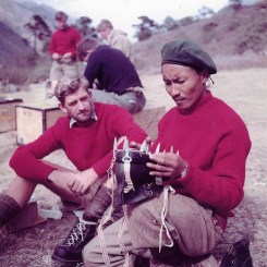 tenzing sherpa george lowe everest expedicion 1953