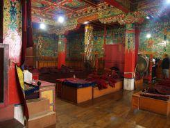 Dentro monasterio de Tengboche