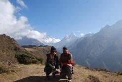 Ram con un tourista