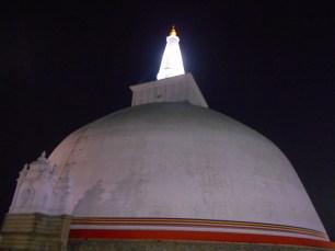 The Stupa at Night
