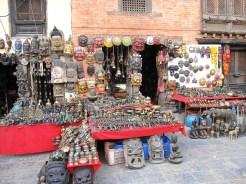 Local curio shop in Kathmandu