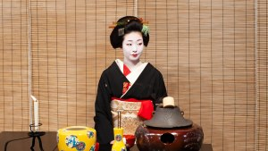 A Geisha in Kyoto