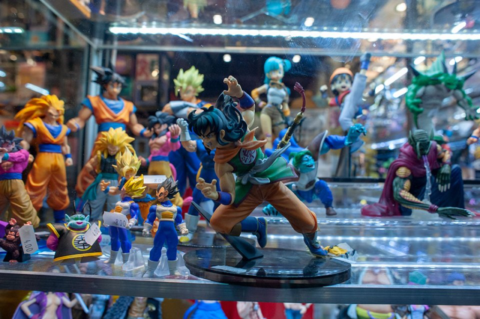 Dragonball Z figurines