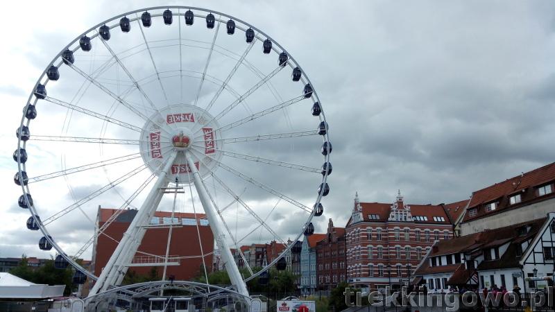 szlak latarni morskich gdańsk stare miasto karuzela trekkingowo