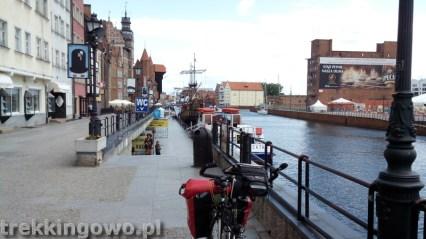 szlak latarni morskich gdańsk stare miasto martwa wisła trekkingowo