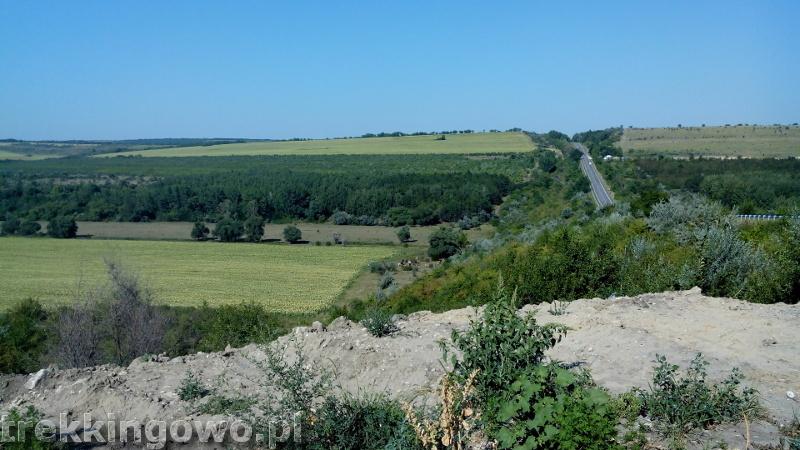 Mołdawia - Dzień 6 droga do Kiszyniowa trekkingowo