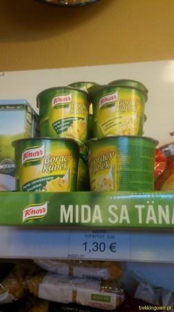 Estonia 2015 - polskie produkty na półkach sklepowych 4