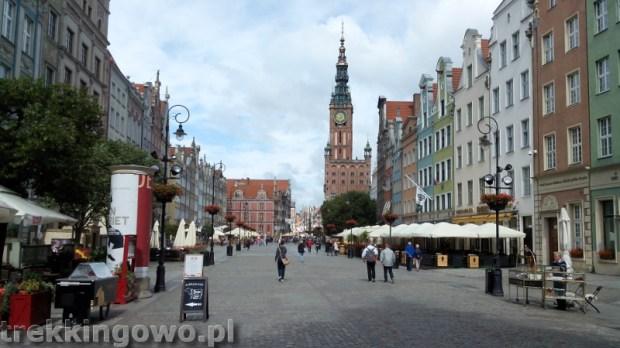 szlak latarni morskich gdańsk stare miasto rynek trekkingowo