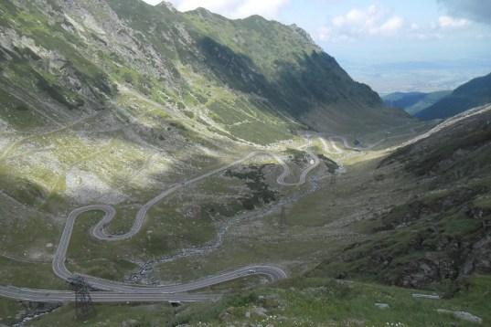 Rumunia, czy nadal dzika transfogaraska szczyt serpentyny 3 trekkingowo
