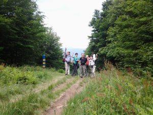 Randonnée sur le fil de la frontière, entre Slovaquie et Ukraine.