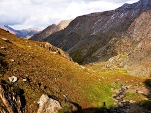 Ausblick vom Pass