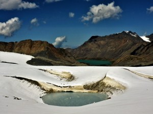 Eis-See vor dem Ala-Kul