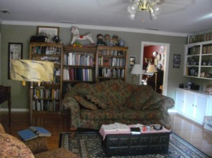 Rearranged livingroom.