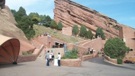 Entrance to Red Rocks Park.