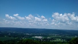 The first day of the national gliding competition at Harris Hill, near Elmira, NY.