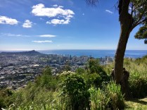 View of Honolulu and Diamondhead