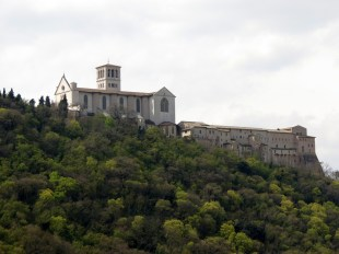 Assisi from St. Francis' Wood