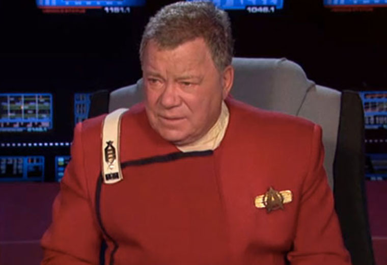William Shatner Star Trek Kirk / William Shatner Refuses To Reprise His ...