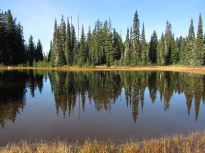 Lake Mailee in Indian Heaven.