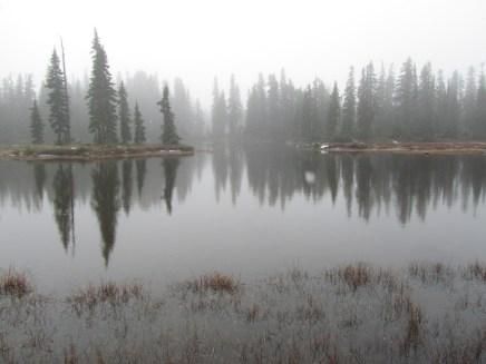 Rock Lake in Indian Heaven