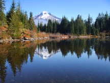 Mt. Hood from Mirror Lake.