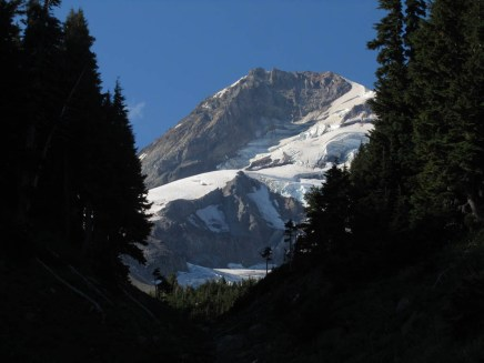 Mt. Hood and Coe Glacier