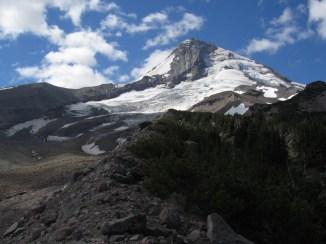 Mt. Hood and the Eliot Glacier