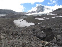 Hood from lower Eliot Glacier