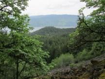Looking back to Herman Creek Trail