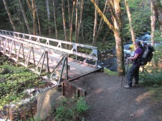 Back to the Herman Creek Bridge.