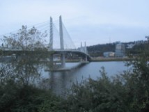 The new Tilikum Crossing Bridge