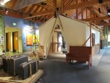 Tillamock Forest Center - tent exhibit