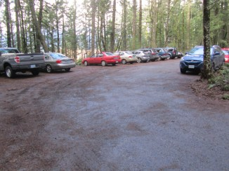 Almost full parking lot when I got back a 1:30.