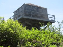 First look at the old fire lookout tower.