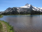 Mt. Jeff and Russel Lake.